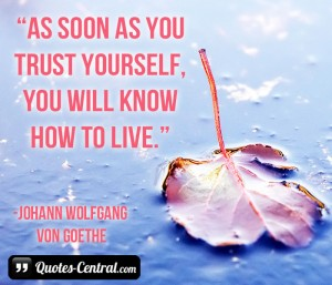inspirerende quotes inspirational quotes citas de inspiración As soon as you trust yourself 2